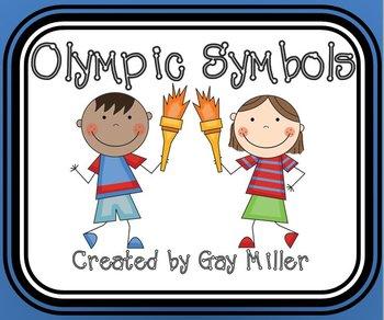 Free Olympic Symbols Activities