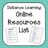 Summer 2020 - Distance Learning - Free Online Resources du