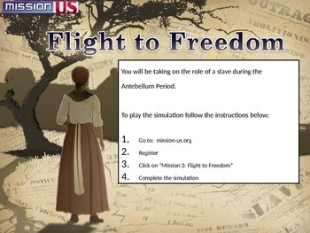 Free Online Simulation: The Underground Railroad