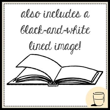 Free Open Books Clip Art