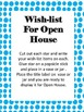 Free Open House Sign In Contact Volunteer Template