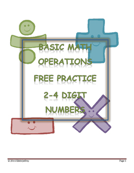 Free Operations Practice