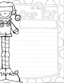 "Free ""Our Elf"" Writing Sheet"