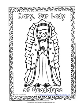 Free Our Lady of Guadalupe Printable