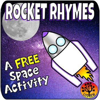 Free Outer Space Centers Activities Games Literacy Rhyming