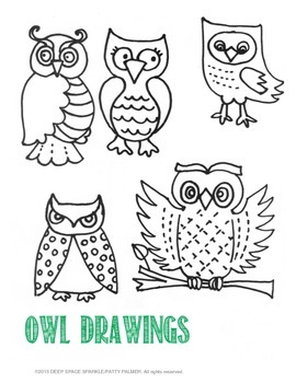 Free Owl Drawing Guide
