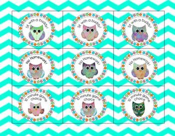 Free Owl Reward Coupons