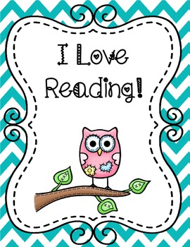 Free Owl Themed Reading Poster