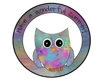 Free Owl Themed Summer Signs