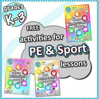 Free PE Sport Lesson ideas › Games, Stations & Relays - Grades K-3