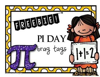 Free PI Day Brag Tags