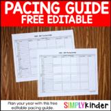 Pacing Guide  - 2018-2019 Pacing Guide