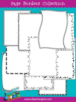 Free Page Borders Collection