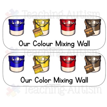 Free Paint Mixing Posters, Colour, Color