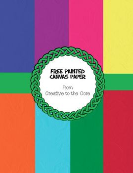 Free Painted Canvas Colored Backgrounds ~ 8 png images
