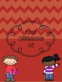 Free Parent Communication Log