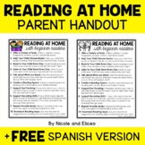 Parent Communication - Beginner Readers Handout