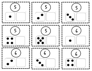 Free Part-Part-Whole Math Mats for Fall