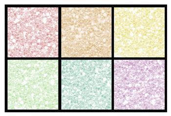 Free Pastel Glitter Easter Eggs {Clip Art}