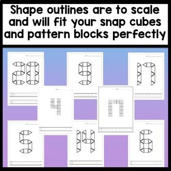 Kindergarten Math Centers with Pattern Blocks {Numbers 0-20!}