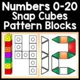 Number Activities with Pattern Blocks {Numbers 1-20} {Kindergarten Math Centers}