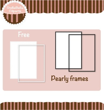 Free Pearly Frames