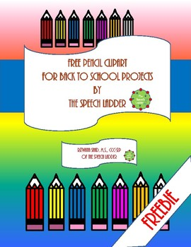 Free Pencil Clip art for back-to-school projects