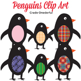 FREEBIE: Penguin Clip Art