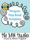 Free Penguin Flap Book Template