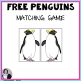 Free Penguin Matching File Folder and Card Game Activities Speech Language