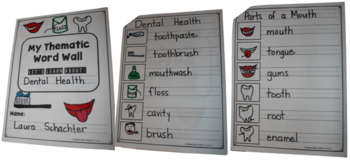 Free Personal Word Walls: Student Made Thematic Word Walls.