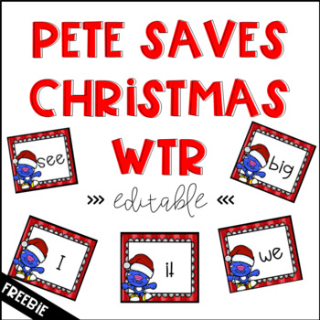 Free Pete Christmas >>EDITABLE