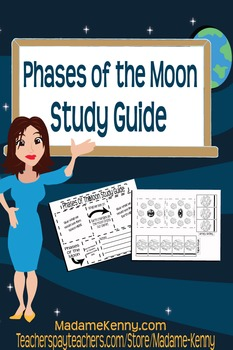 Free Phases of the Moon Interactive Study Guide