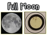 Free! Phases of the Moon Visuals and Examples {With Oreo Cookies!}