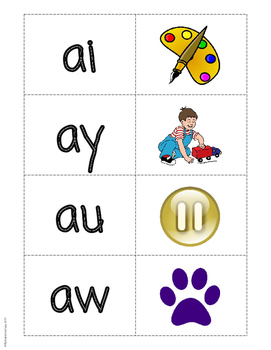FREE Phonics Matching Game - Level 2