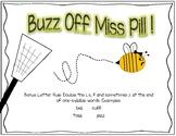 Free Phonics Poster Bonus Letter Rule Buzz Off Miss Pill