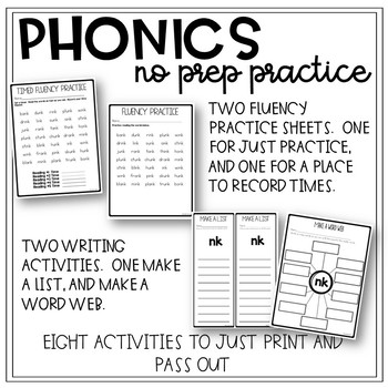 Free Phonics Worksheets By 180 Days Of Reading Tpt