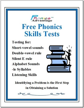Phonics Examinations - Quizzes | Teachers Pay Teachers