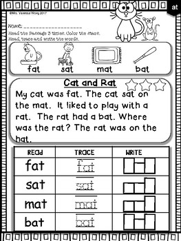 Free Phonics reading comprehension passages and activities ...