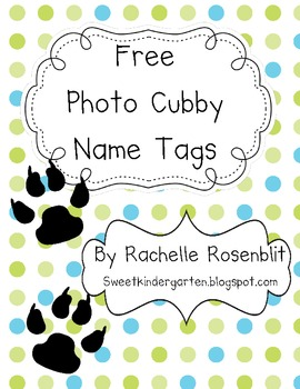 picture regarding Printable Name Tags for Cubbies titled No cost Cubby Popularity Tags Worksheets Instruction Components TpT