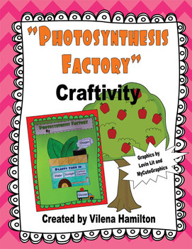 """Free """"Photosynthesis Factory"""" Craftivity"""