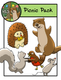 Free Picnic Animal Pack - Clipart