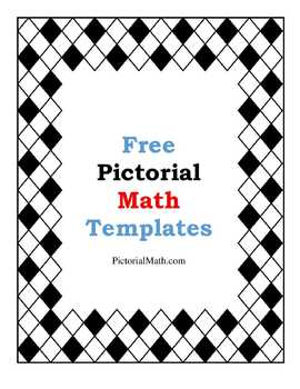 Free Pictorial Mathematics' Teaching Templates