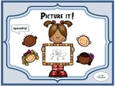 (Free!) Picture it! Vocabulary Center Game