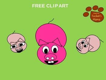Free Pig Clip Art