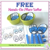 Free Place Value Math Center
