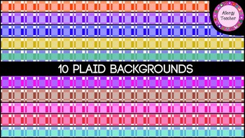 Free Plaid Backgrounds Pack
