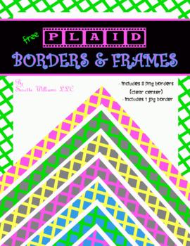 Free Plaid Borders & Frames