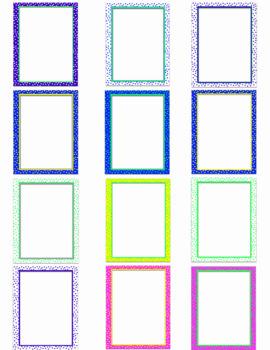 Polka Dot Borders & Backgrounds (digi paper)