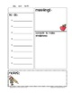 "Free Planner Forms- Meetings and ""To Do's"""